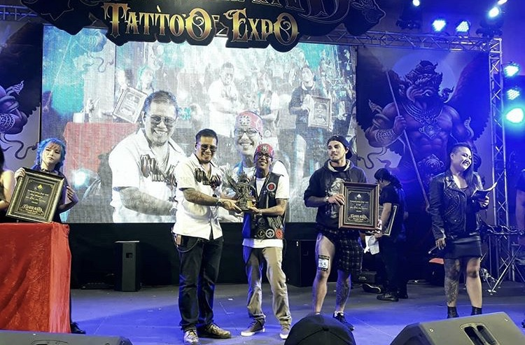 Thailand tattoo expo awards