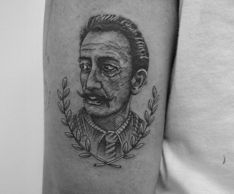 ryan berti portrait tattoo bali