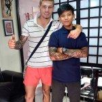 Ata Ink tattoo artist in Kuta, Bali