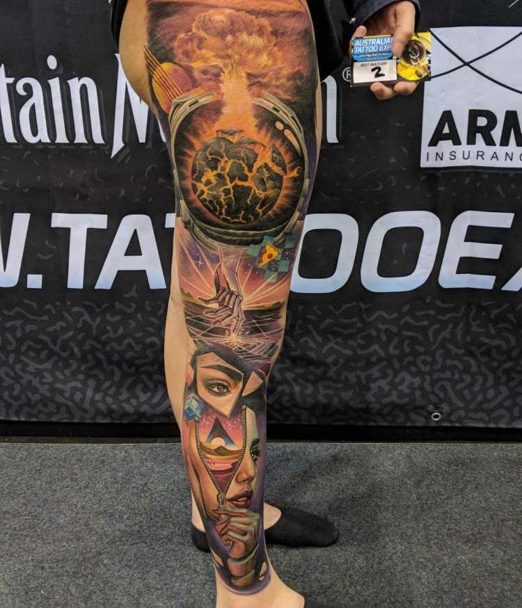 Tattoo of the Show Perth Expo 2018 Australia