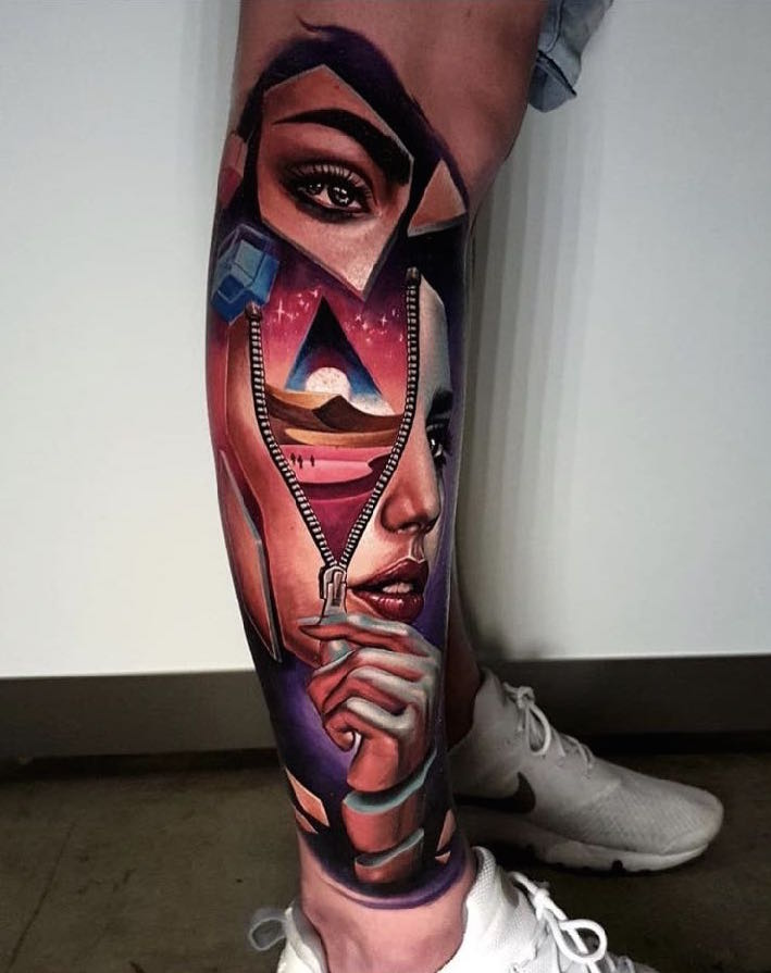 Day 1 Best Tattoo at Perth Tattoo Expo 2018 by Ata Ink