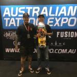 Gunz tattoo award perth expo 2018