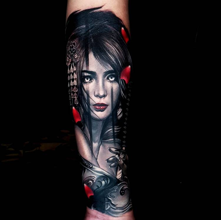 Portrait Tattoo by Ata Ink Bali