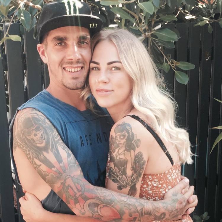 Bridget and Sam Hill InkedCouple Dec 2017
