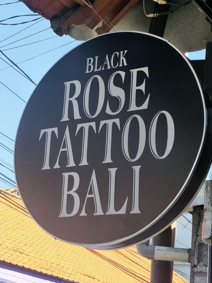Black Rose Tattoo Bali