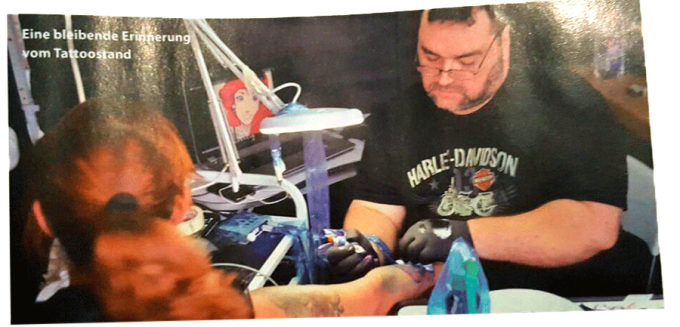Tattoo by Goran @work