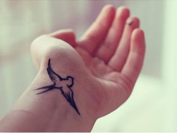 Swallow Wrist Tat