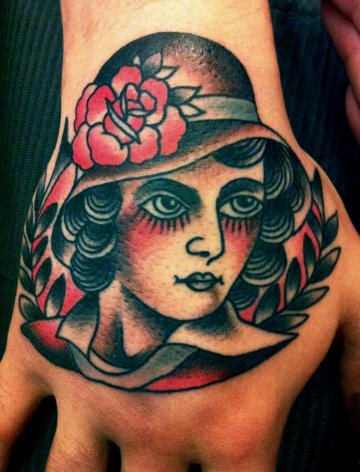 Classy Lady Hand Ink