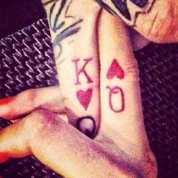 King & Queen Tattoo