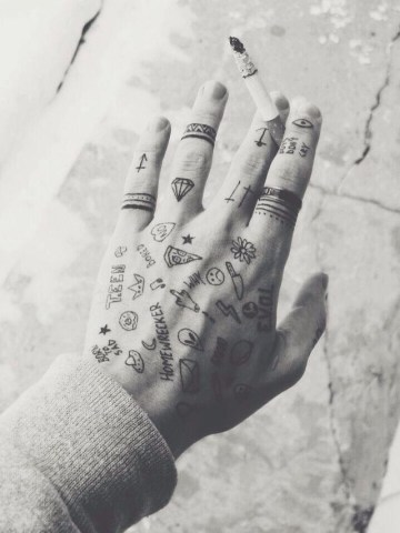 Awesome Inked Hand
