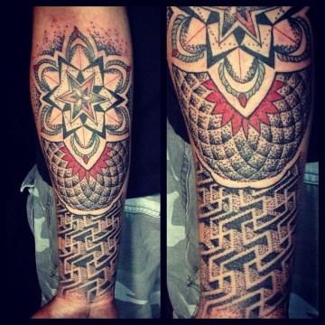 Maze Tattoo
