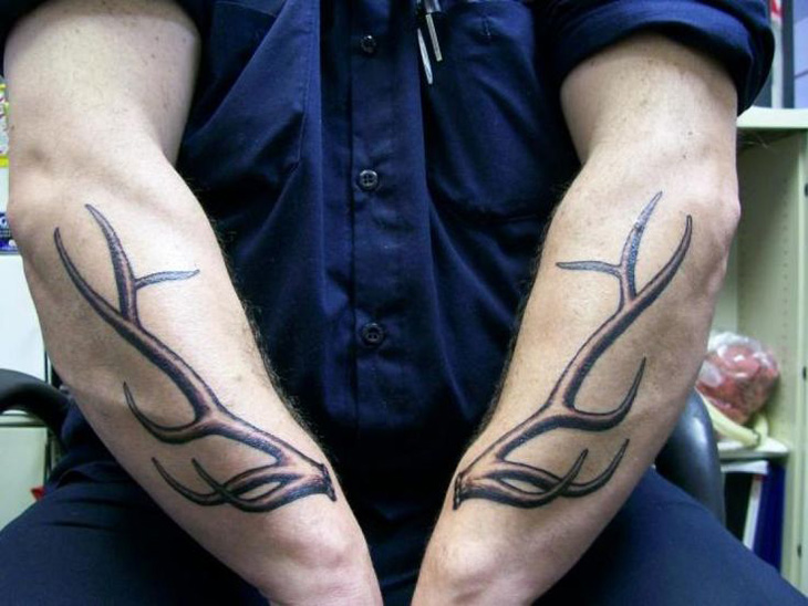 Antlers Tattoo Best Tattoo Design Ideas