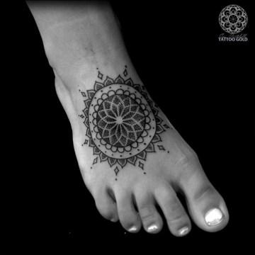 Foot Mandala