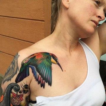 Pride Bird Tattoo
