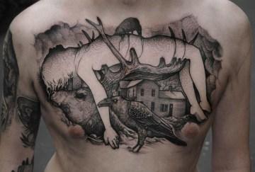 Impaled tattoo