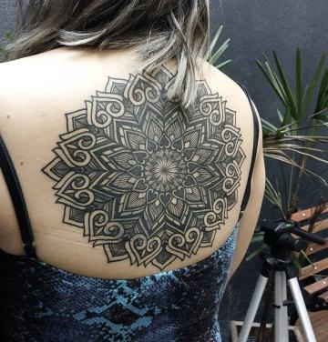 Large Mandala Tattoo