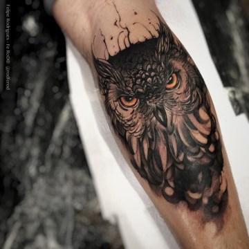 Owl Forearm