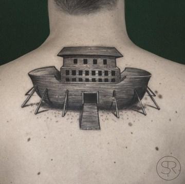 Noah's Ark Tattoo