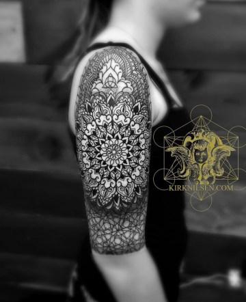 Intricate Mandala Tattoo