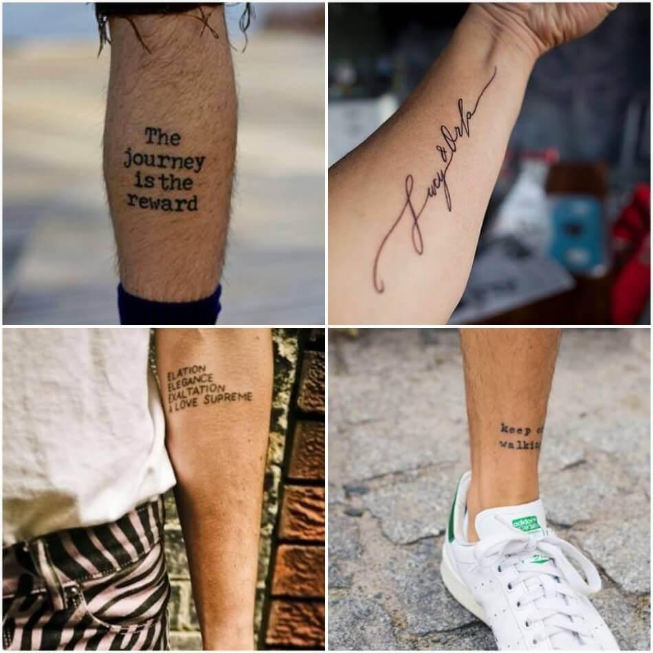 что можно написать на руке фото тату надписей и их значение