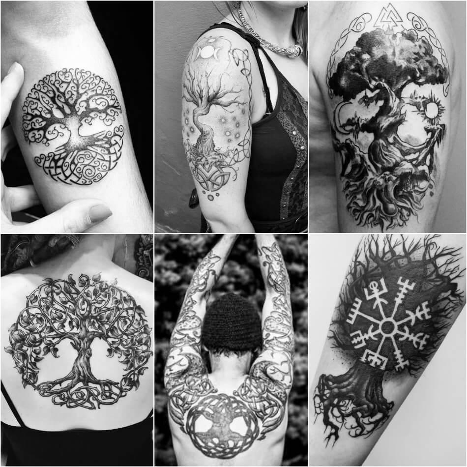 скандинавские тату татуировки воинственного народа викингов
