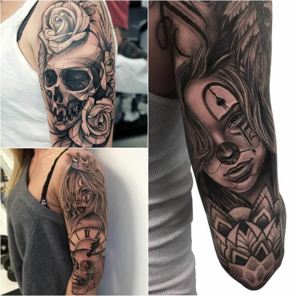 тату на плече идеи интересных и стильных тату на плече