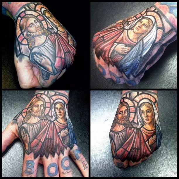 25 Dazzling Stained Glass Tattoo Ideas Nothing Less Than