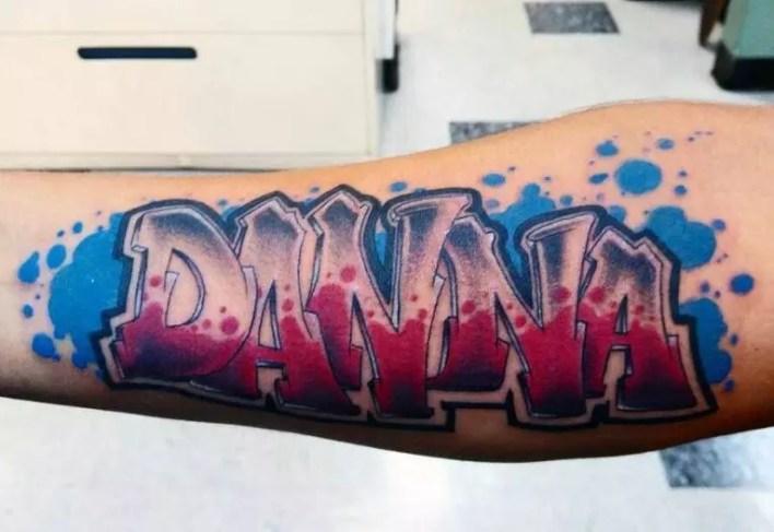 Graffiti Tattoo 100
