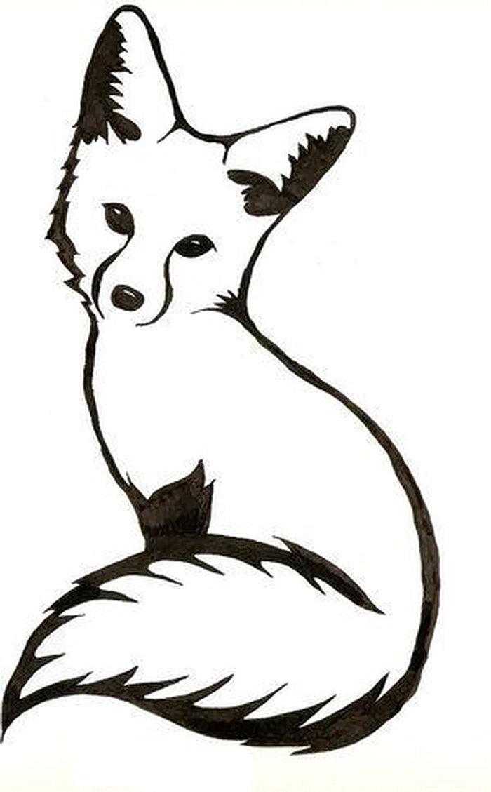 фото тату лиса от 18112017 010 Fox Tattoo Tattoo Photoru