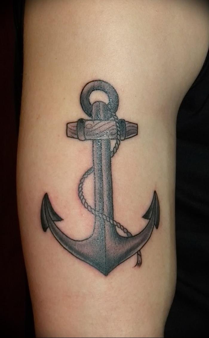 фото тату якорь от 02102017 005 Tattoo Anchori Tattoo Photo