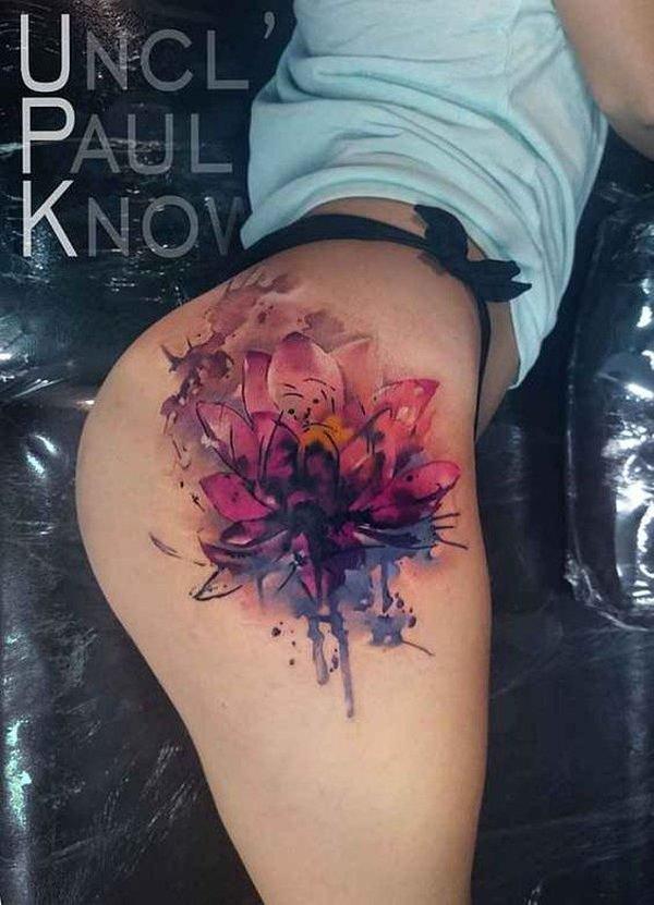 Für schöne rücken frauen tattoos 40 Dezente