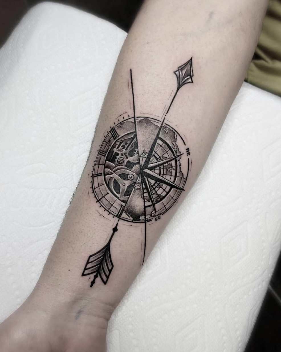 65 фото татуировка часов на руке символ времени Tattooassist