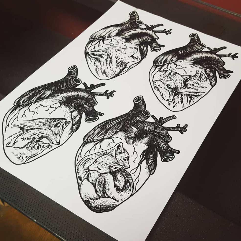 50 фото эскизы тату лиса для девушек 2019 года Tattooassist