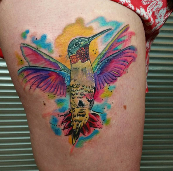 Bird Wrist Tattoos Men