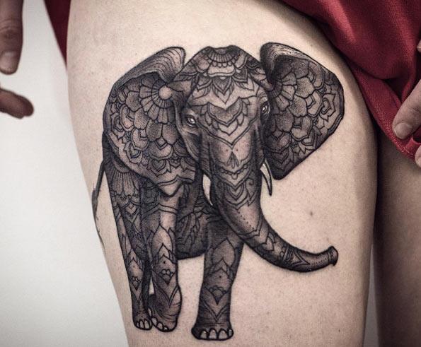51 Exceptional Elephant Tattoo Designs Amp Ideas TattooBlend