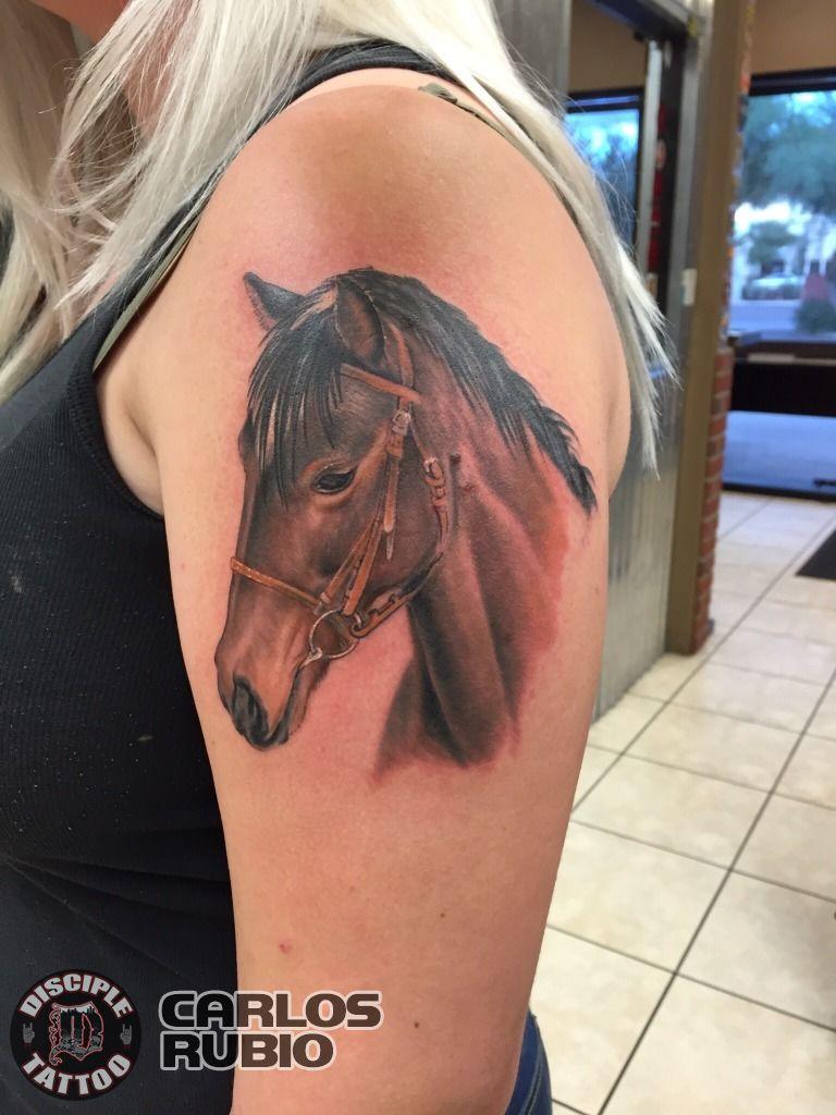 Carlosrubio Horse Portrait Animal Tattoo Horse Horse