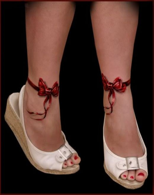 3d bow knot tattoo designs for female ankle  3d Bow Knot Tattoo Designs for Female Ankle 3d bow knot tattoo designs for female ankle