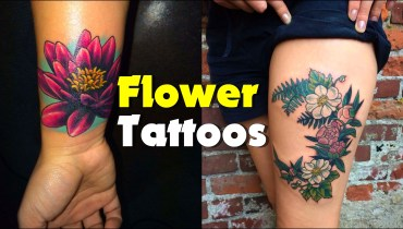 Flower_tattoos_1  50+ Flower Tattoo Designs and Their Meanings flower tattoos 1 1
