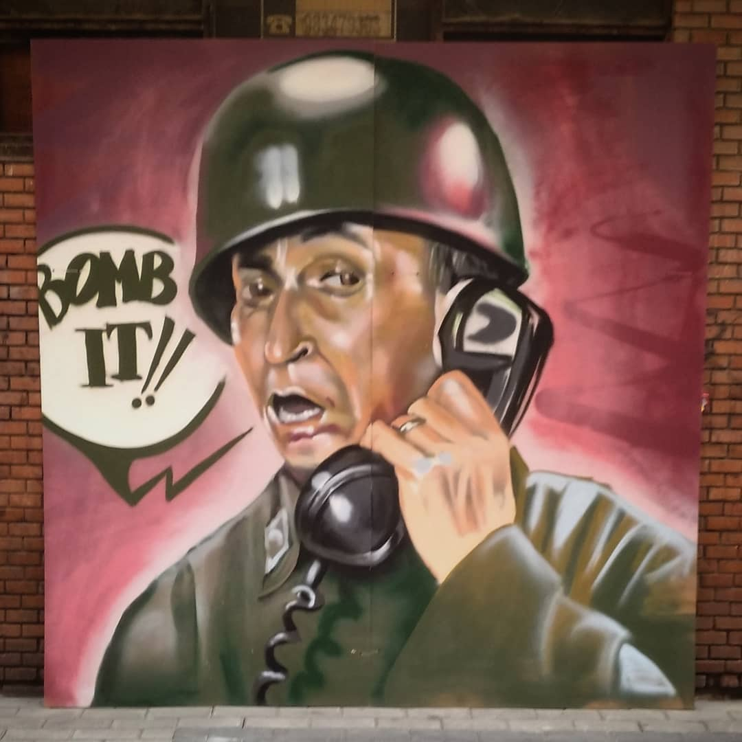 gila arte urbano graffiti palencia mural art