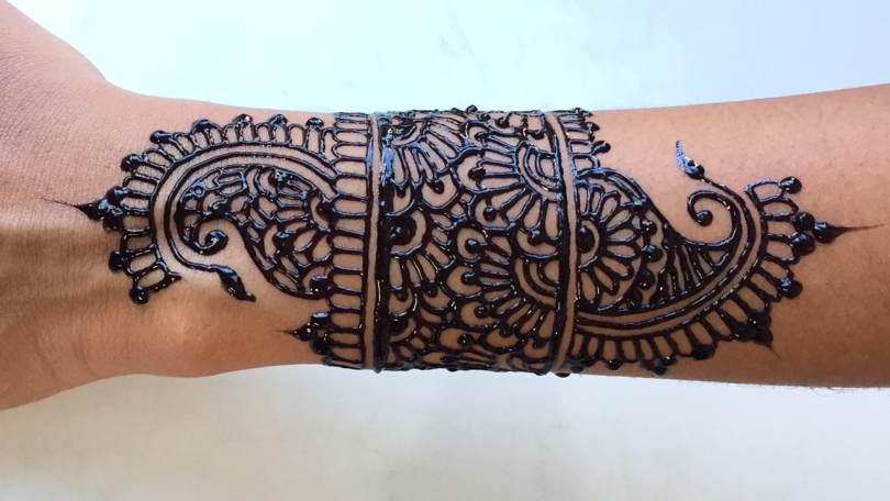 jagua wrist tattoo