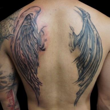 翼 天使 悪魔 wings