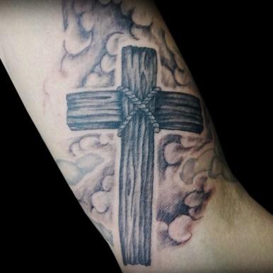 クロス 木 wooden cross