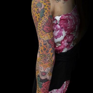 豹 ヒョウ 薔薇 leopard roses