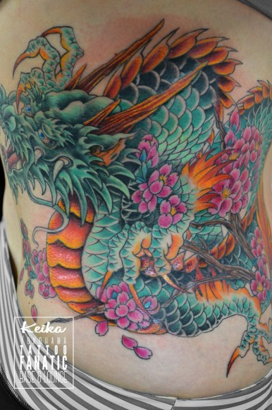 龍 桜 dragon