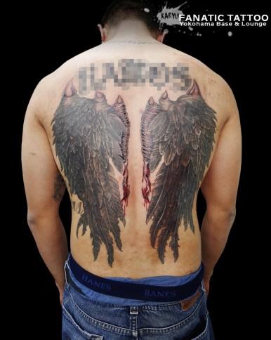 翼 背中 wings