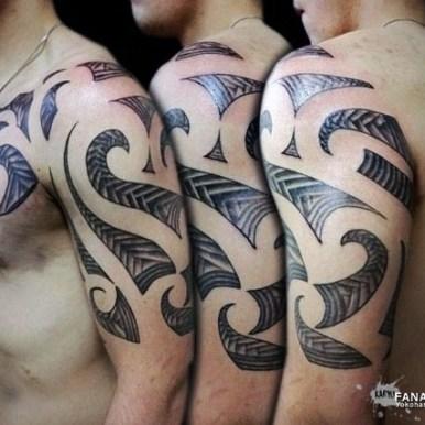tribal sleeve トライバル