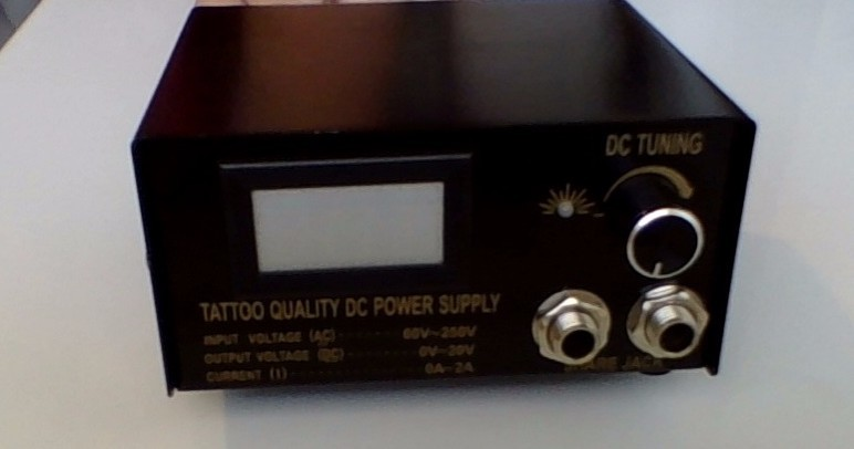 tattoo power supply settings basic