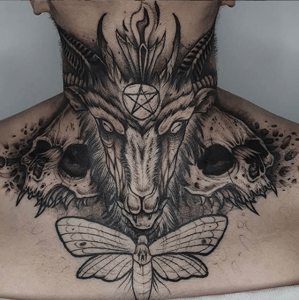 baphomet tattoo