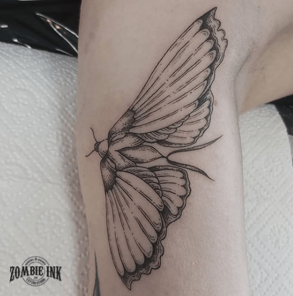 moth tattoo meaning
