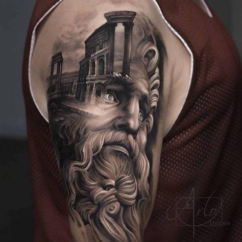 Joli tatouage symbolique